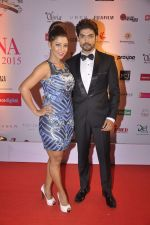 Gurmeet Chaudhary, Debina Banerjee at Femina Miss India finals red carpet in Yashraj Studios on 28th March 2015 (400)_55180b9dca837.JPG