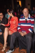 Bruna Abdullah, Prem Chopra at the launch of R-Vision_s movie Udanchhoo directed by Vipin Parashar in Mumbai on 31st March 2015 (6)_551b9766ee5e3.JPG