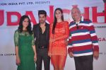 Gautam Gulati, Saisha Sehgal, Bruna Abdullah, Prem Chopra at the launch of R-Vision_s movie Udanchhoo directed by Vipin Parashar in Mumbai on 31st March 2015 (37)_551b9693827c7.JPG