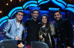 Govinda, Sushant Singh Rajput, Geeta Kapur, Terence Lewis on the sets of Zee TV DID Super Moms to promote his upcoming movie on 31st March 2015 (2)_551b94eddb11e.JPG