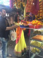 Mahaakshay Chakraborty, Evelyn Sharma Seeks Bappa_s Blessings for Ishqedarriyaan in Siddhivinayak temple, Mumbai on 31st March 2015 (31)_551b93c023364.jpg