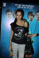 Shazahn Padamsee promotes Solid Patels in Smaash, Mumbai on 1st April 2015 (4)_551d068e291bb.JPG