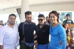 Tiger Shroff, Bhushan Kumar, Atif Aslam, Ahmed Khan at Atif Aslam T Series shoot in Mumbai on 3rd April 2015 (6)_551fe2662ab2e.JPG