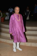 Pandit Hariprasad Chaurasiya at Berklee President visit hosted by Ashok Hinduja in Juhu, Mumbai on 5th April 2015 (15)_55225a9bc82bd.JPG