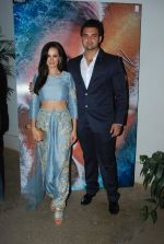 Mahaakshay Chakraborty and Evelyn Sharma launched the trailer of Ishqedarriyaan in Mumbai on 7th April 2015 (31)_5524f436a4106.JPG