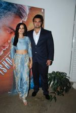Mahaakshay Chakraborty and Evelyn Sharma launched the trailer of Ishqedarriyaan in Mumbai on 7th April 2015 (40)_5524f43a6ec66.JPG