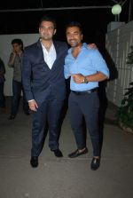 Mahaakshay Chakraborty, Ajaz Khan launched the trailer of Ishqedarriyaan in Mumbai on 7th April 2015 (23)_5524f44c99ede.JPG