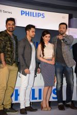 Soha Ali Khan, Kunal Khemu, Rannvijay Singh, Atul Kasbekar endorse new 4k TV in Bandra, Mumbai on 7th April 2015 (124)_5524f2707ddbd.JPG