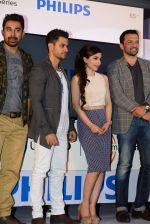 Soha Ali Khan, Kunal Khemu, Rannvijay Singh, Atul Kasbekar endorse new 4k TV in Bandra, Mumbai on 7th April 2015 (128)_5524f2733361c.JPG