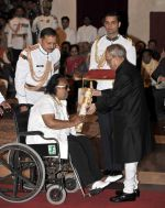 Ravindra Jain at Padma Shri ceremony  in Delghi on 8th April 2015 (2)_552662f5a3d07.jpg