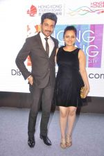 Neha Lakshmi Iyer, Dheeraj Dhoopar at Sasural Simar ka team at HK Tourism event in Four Seasons, Mumbai on 9th April 2015 (36)_55279d8f7fd87.JPG