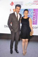 Neha Lakshmi Iyer, Dheeraj Dhoopar at Sasural Simar ka team at HK Tourism event in Four Seasons, Mumbai on 9th April 2015 (37)_55279d2f32c59.JPG