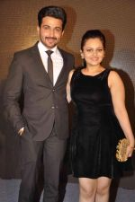 Neha Lakshmi Iyer, Dheeraj Dhoopar at Sasural Simar ka team at HK Tourism event in Four Seasons, Mumbai on 9th April 2015 (39)_55279d48c2946.JPG