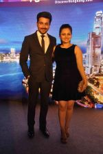 Neha Lakshmi Iyer, Dheeraj Dhoopar at Sasural Simar ka team at HK Tourism event in Four Seasons, Mumbai on 9th April 2015 (41)_55279d313a10d.JPG