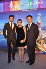 Neha Lakshmi Iyer, Dheeraj Dhoopar at Sasural Simar ka team at HK Tourism event in Four Seasons, Mumbai on 9th April 2015 (43)_55279d32de046.JPG