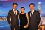 Neha Lakshmi Iyer, Dheeraj Dhoopar at Sasural Simar ka team at HK Tourism event in Four Seasons, Mumbai on 9th April 2015 (46)_55279d946a8c0.JPG