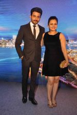 Neha Lakshmi Iyer, Dheeraj Dhoopar at Sasural Simar ka team at HK Tourism event in Four Seasons, Mumbai on 9th April 2015 (47)_55279d362bd51.JPG