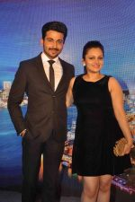 Neha Lakshmi Iyer, Dheeraj Dhoopar at Sasural Simar ka team at HK Tourism event in Four Seasons, Mumbai on 9th April 2015 (49)_55279d37ee8a5.JPG