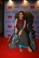Shruti Seth at Indian censored screening of Game of Thrones in Lightbox, Mumbai on 9th April 2015 (16)_5527a06bf3120.JPG