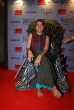 Shruti Seth at Indian censored screening of Game of Thrones in Lightbox, Mumbai on 9th April 2015 (17)_5527a06d43631.JPG