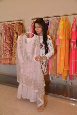 Kehkashan Patel at Abu Sandeep Spring Summer collection launch in kemps Corner, Mumbai on 10th April 2015 (13)_5528ff16a8520.JPG