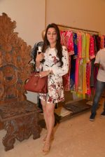 Kehkashan Patel at Abu Sandeep Spring Summer collection launch in kemps Corner, Mumbai on 10th April 2015 (30)_5528ff203229b.JPG