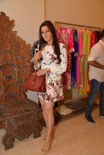 Kehkashan Patel at Abu Sandeep Spring Summer collection launch in kemps Corner, Mumbai on 10th April 2015 (31)_5528ff219b301.JPG