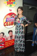 Sugandha Mishra at SAB Family Club launch event in FUN on 11th April 2015 (18)_552a6455a9bd7.JPG
