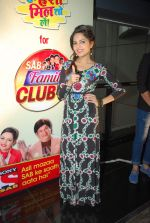 Sugandha Mishra at SAB Family Club launch event in FUN on 11th April 2015 (19)_552a6456e7f3e.JPG