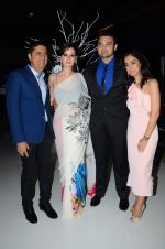 Evelyn Sharma, Mahakshay Chakraborty at the Launch of Karan Johar_s special edition Holiday Line by Gehna Jewellers in Mumbai on 13th April 2015 (37)_552cedeb7aade.JPG