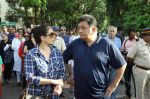 Rishi Kapoor, Neelam Kothari protests against BMC for giving Hawkers Zone in Pali Hill on 13th April 2015 (23)_552cea6559478.JPG