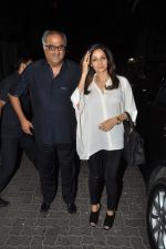Sridevi, Boney Kapoor at Dil Dhadakne Do bash hosted by Anil Kpaoor in Mumbai on 13th April 2015 (2)_552cf017b1b82.JPG