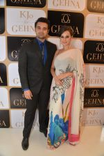 mahakshay with evelyn at the Launch of Karan Johar_s special edition Holiday Line by Gehna Jewellers in Mumbai on 13th April 2015_552cedf7f0cd7.JPG