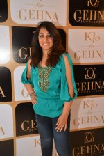 munisha khatwani at the Launch of Karan Johar_s special edition Holiday Line by Gehna Jewellers in Mumbai on 13th April 2015 (2)_552cee346dfbc.JPG