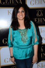 munisha khatwani at the Launch of Karan Johar_s special edition Holiday Line by Gehna Jewellers in Mumbai on 13th April 2015 (3)_552cee35d480a.JPG