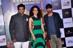 Deepak Dobriyal, Kangna Ranaut, R Madhavan at the First Look launch of Tanu Weds Manu 2 on 14th April 2015 (52)_552e4c2c1de47.JPG