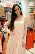 Shazahn Padamsee during the Launch of first Perfume JOEI at Madame showroom, Ambience Mall, gurgaon,Haryana on 14th April 2015 (21)_552e4830a073d.JPG