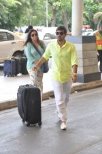 Wajid Ali depart to Goa for Planet Hollywood Launch in Mumbai Airport on 14th April 2015 (60)_552e4f3277007.JPG