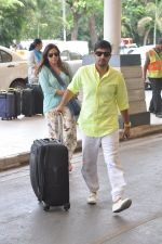 Wajid Ali depart to Goa for Planet Hollywood Launch in Mumbai Airport on 14th April 2015 (57)_552e4f2b940b8.JPG