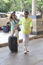 Wajid Ali depart to Goa for Planet Hollywood Launch in Mumbai Airport on 14th April 2015 (59)_552e4f2fc3d76.JPG