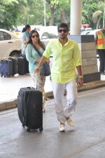 Wajid Ali depart to Goa for Planet Hollywood Launch in Mumbai Airport on 14th April 2015 (61)_552e4f346e7e9.JPG
