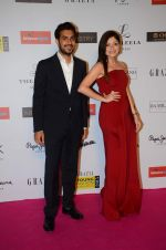 Kanika Kapoor at Grazia young fashion awards red carpet in Leela Hotel on 15th April 2015 (1688)_5530a128e31e8.JPG