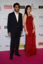 Kanika Kapoor at Grazia young fashion awards red carpet in Leela Hotel on 15th April 2015 (1693)_5530a12f8b2bd.JPG