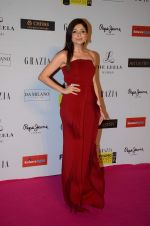 Kanika Kapoor at Grazia young fashion awards red carpet in Leela Hotel on 15th April 2015 (1700)_5530a13a06979.JPG
