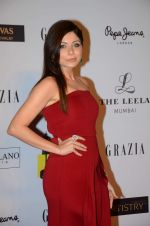 Kanika Kapoor at Grazia young fashion awards red carpet in Leela Hotel on 15th April 2015 (1704)_5530a1406c847.JPG