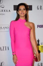 Manasvi Mamgai at Grazia young fashion awards red carpet in Leela Hotel on 15th April 2015 (1579)_5530a1cc111d6.JPG
