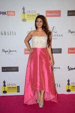 Tanisha Mukherjee at Grazia young fashion awards red carpet in Leela Hotel on 15th April 2015 (2062)_5530a335b2871.JPG