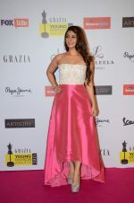 Tanisha Mukherjee at Grazia young fashion awards red carpet in Leela Hotel on 15th April 2015 (2063)_5530a336d14e2.JPG