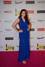 Waluscha De Sousa at Grazia young fashion awards red carpet in Leela Hotel on 15th April 2015 (1408)_5530a36fa7484.JPG