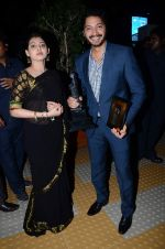 Deepti Talpade, Shreyas Talpade at Dadasaheb Phalke Film Foundation Award in Bhaidas Hall on 21st April 2015 (77)_5537b01f2aadd.JPG